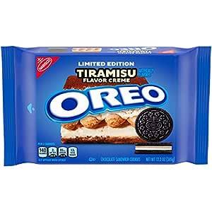Oreo Chocolate Sandwich Cookies, Tiramisu Flavored Creme, Limited Edition, 1 Pack (12.2 Oz.), 1Count