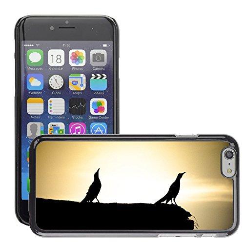 """Bild Hart Handy Schwarz Schutz Case Cover Schale Etui // M00134236 Vögel Landschaften // Apple iPhone 6 PLUS 5.5"""""""