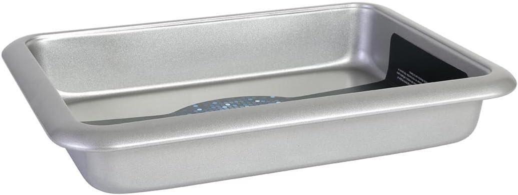 Aluminio Plata San Ignacio Molde de Horno 24.3 x 14.3 x 7 cm