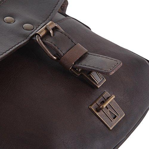 Jost Umhängetasche 2448/003 Damen Handtasche dunkelbraun