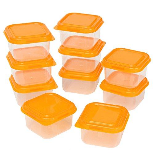 10Pcs Disposable Microwave Safe 3 Compartment Food Storage Transparent - 1