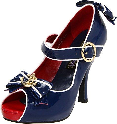 Scarpe Da Donna Funtasma Anchor-22 Scarpe Donna Blu-bianco