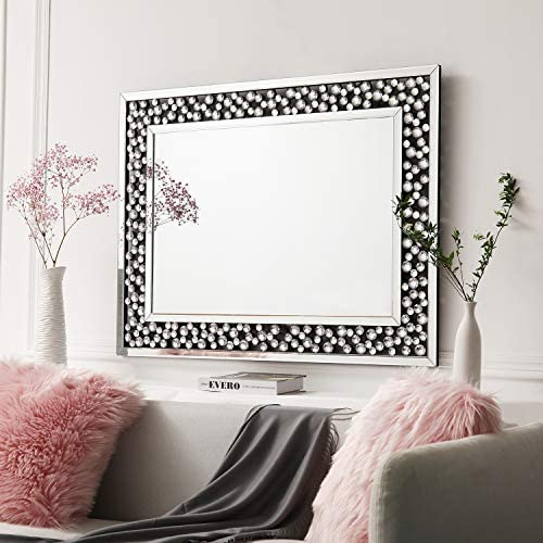 Art Decorative Wall Mirrors Large Grecian Venetian Mirror for Hotel Home Vanity Sliver Mirror 27.5 x 43.3