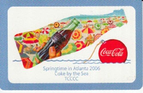 A Single Swap Playing Card Atlanta Coca-Cola Collectors Club 2006 Card