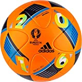 Adidas Euro16 Winter High Visibility Official Match Soccer Ball (Orange) Beau Jeu