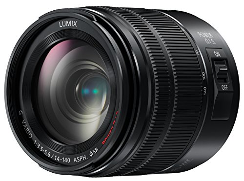 PANASONIC LUMIX G VARIO LENS, 14-140MM, F3.5-5.6 ASPH., MIRRORLESS MICRO FOUR THIRDS, POWER OPTICAL I.S., H-FS14140AK (USA BLACK)