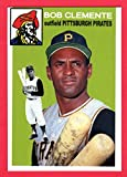 Roberto Clemente 1954 Topps Style Custom Card (Pirates)