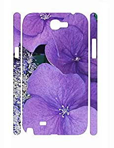 Retro Design Glam Flower Bloom Super Smooth Phone Dust Proof Case for Samsung Galaxy Note 2 N7100