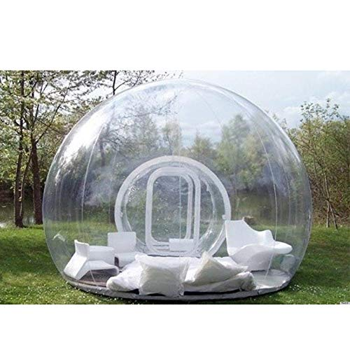 Inflatable Bubble Tent, Transparent Outdoor Single Tunnel Family Camping Backyard With 3 Sizes