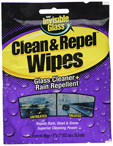 Invisible Glass Premium Glass Cleaner with Rain Repellent -