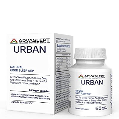 ADVASLEPT URBAN Is A Game-Changer In The Natural Sleep Aids World - SPECIALLY FORMULATED For PEOPLE 30+; To Be EFFECTIVE In Busy, URBAN LIFESTYLE RELATED SLEEP PROBLEMS.