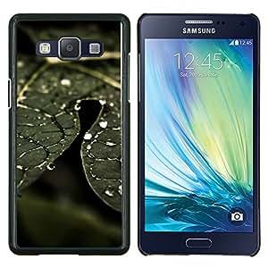 YiPhone /// Prima de resorte delgada de la cubierta del caso de Shell Armor - Planta Naturaleza Forrest Flor 74 - Samsung Galaxy A5 A5000