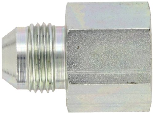 Eaton Aeroquip 221501-16-12S Reducer, Female 37 Degree JIC, JIC 37 Degree End Types, Carbon Steel, 1 JIC(f) x 3/4 JIC(m) End Size, NULL Tube OD by Aeroquip (Image #2)
