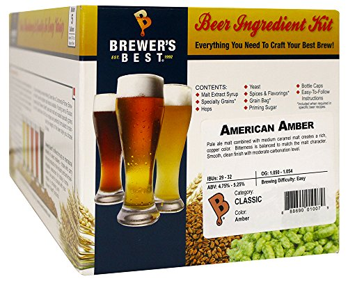 American Amber Homebrew Beer Ingredient Kit (Brewers Best Kolsch Review)