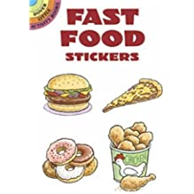 Fast Food Stickers (Dover Little Activity Books Stickers)
