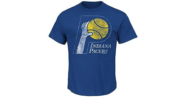 VF Majestic Envejecido Post Up de la NBA Hombres Manga Corta Basic Cuello Redondo Camiseta: Amazon.es: Deportes y aire libre