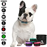 Best K9 BARK Collar for Small Dogs, Safe Anti Bark Dog Collars, Small Dog Bark Collar Specialist Brand, Stop Barking Humane Device, 7 Level Bark Deterrent w/Beeping, Ultrasonic, Vibrations & Shock
