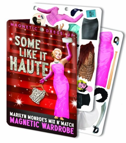 Some Like it Haute - Marilyn Monroe Magnetic Dress Up Doll Play Set by The Unemployed Philosophers Guild