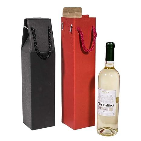 Kartox | Estuche 1 Botella De Vino Con Asa | Caja Expositora ...