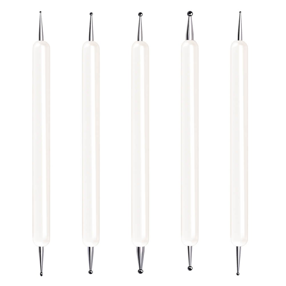 Selizo 5 Pcs Embossing Stylus Set with Different Size Double End Tracing Dotting Tool Stylus for Carbon Transfer Paper Mandala Rock Painting, Pottery Clay Craft, Embossing Art 4336866768