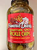 Famous Dave's Signature Spicy Pickle Chips 64 Oz