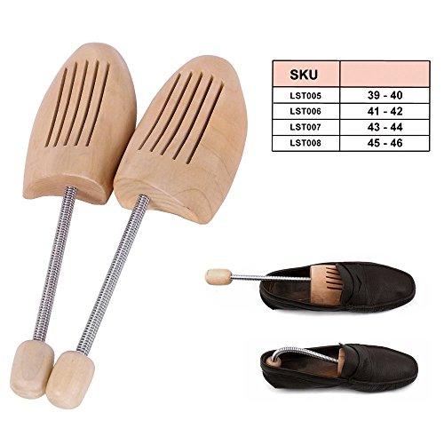 schima SONGMICS 46 tallas horma 39 superba de 5 madera zapatos de para Pares qCq8nxwFR