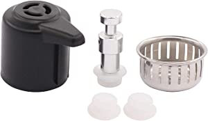 ApplianPar Electrical Pressure Cooker Steam Release Handle and Float Valve Gaskets Caps Sealing Ring Anti-Block Shield for Instant Pot Duo/Duo Plus 3 6 Qt