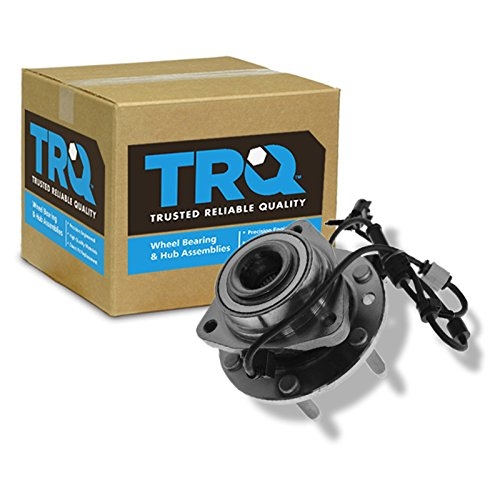 - TRQ Front Wheel Hub & Bearing for Chevy Trailblazer GMC SUV w/ABS 6 Lug