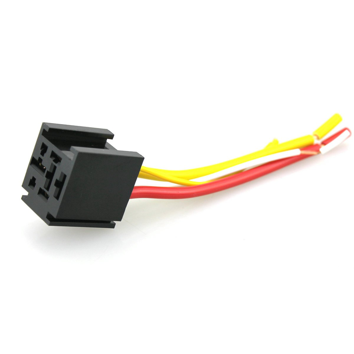 Iztoss 12v 60 70 80 Amp Bosch Style Automotive Relay Harness Socket Wire With 11awg And 18awg