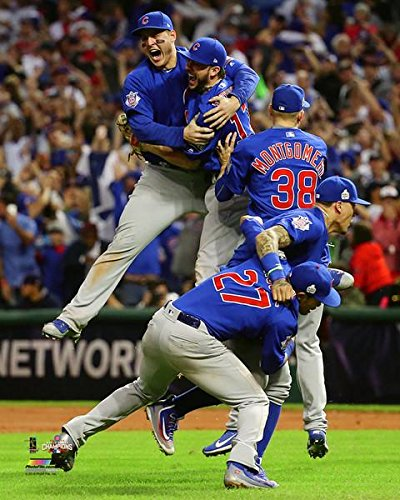 Chicago Cubs - 2016 World Series Champions! The Last Out! 8x10 Photo Picture (Photographs Sports)
