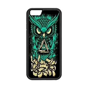 "GGMMXO Owl Phone Case For iPhone 6 Plus (5.5"") [Pattern-1]"