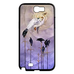 White swan Pattern Hard Shell Phone Case For For Samsung Galaxy Note 2 Case FKGZ475090