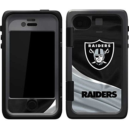 NFL Oakland Raiders OtterBox Armor iPhone 4&4s Skin - Oakland Raiders Vinyl Decal Skin For Your OtterBox Armor iPhone 4&4s - Nfl Iphone 4 Case