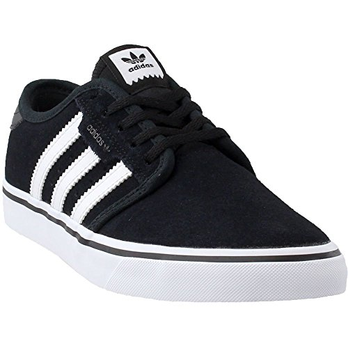 Adidas Men's Seeley Skate Shoe,Black/White/Black,6.5 M US by adidas Originals