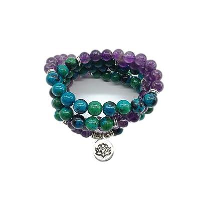 Nuevo diseño de yoga pulsera o collar curativo Phoenix Ame ...