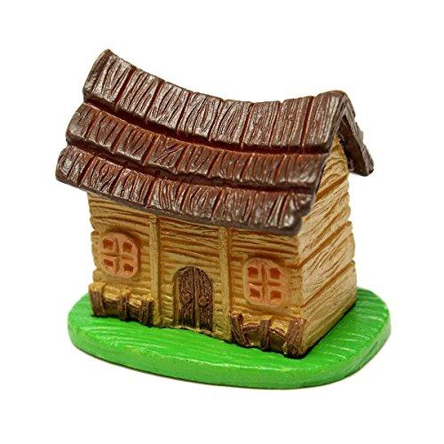 TOOGOO(R)Miniature DollHouse Landscape Moss Micro Mini House DIY Fairy Garden Potted Plant - Landscape Garden Gate