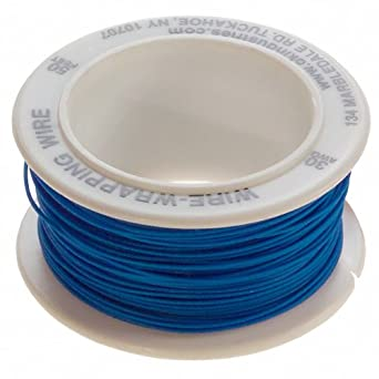 Jonard R 30b 0050 Replacement Blue Kynar Wire Roll For Wd 30 Series Dispenser  Long Electrical Wires Amazon Com Industrial Scientific