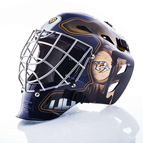 Franklin Sports NHL Nashville Predators GFM 1500 Goalie Face Mask