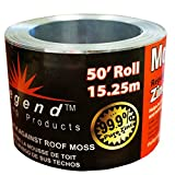 "Legend Roofing Products Zinc Strip Moss Preventer, 2-5/8"" x 50 Feet"