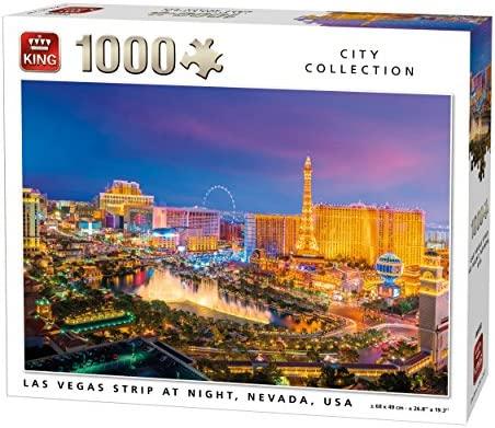 1000 Piezas, 68 x 49 cm King 5707 New York Puzzle