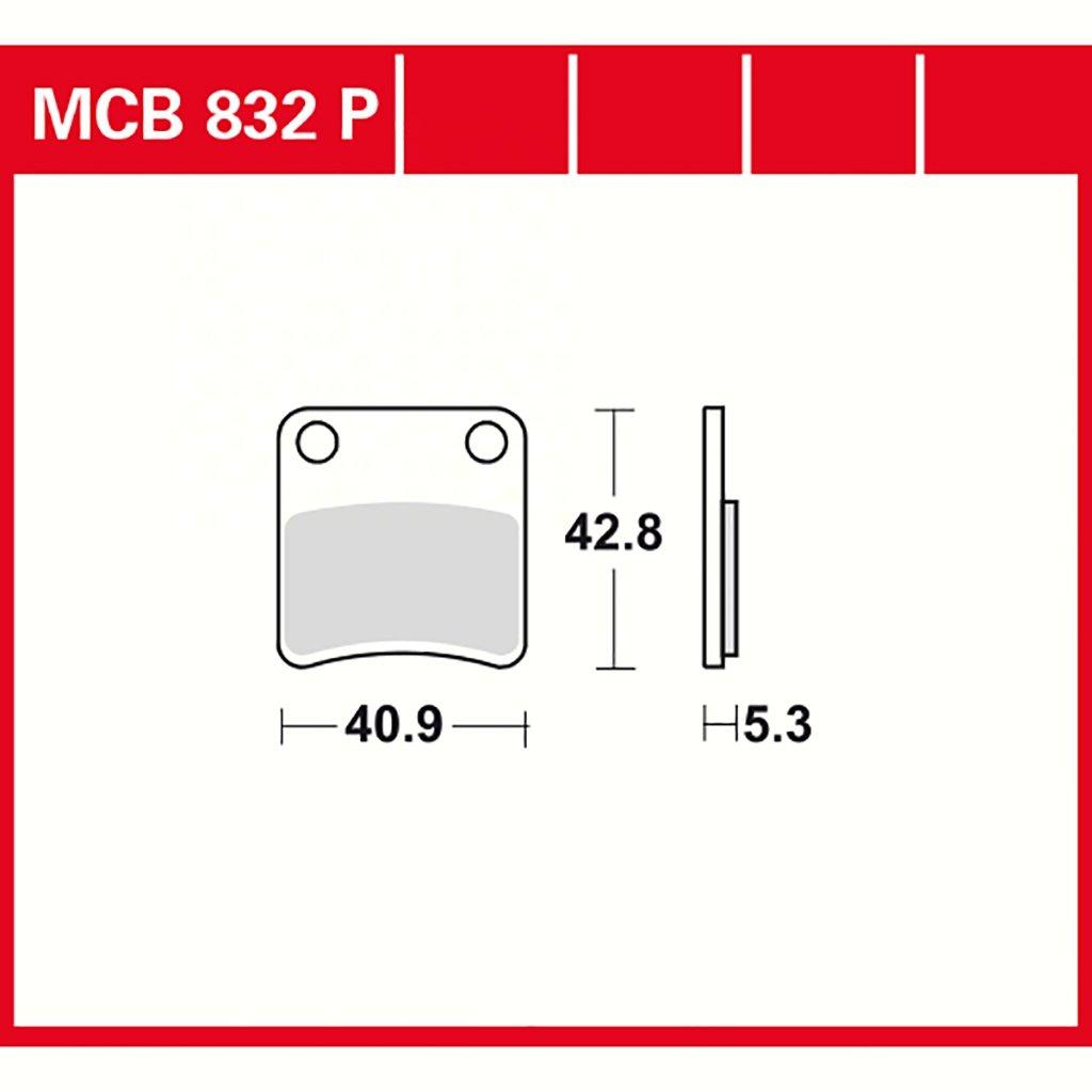 C600 K18 plaquette de freins Lucas MCB832P C650 K19 FJS Silver Wing 400 NF01 Frein de stationnement pour C 600 Sport ABS K18 Integra 700 RC6 DN-01 700 RC55 DN-01 700 NSA A RC55 C 650 GT ABS K19