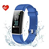 Fitness Tracker, EFOSHM Color Screen Activity Tracker with Heart Rate, Multi Sports Smart Wristband with Sleep Monitor, Waterproof Smart Watch with Step/Calorie / Distance Counter for IOS/Android