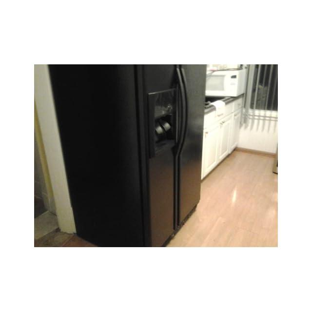 Whirlpool 25 Cu. Ft. Black Side By Side Refrigerator   ED5KVEXVB