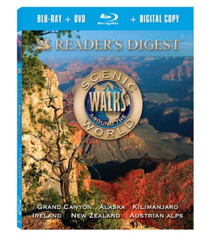 Dramatic Reader - Scenic Walks Around the World: Our Dramatic Planet [Blu-ray]