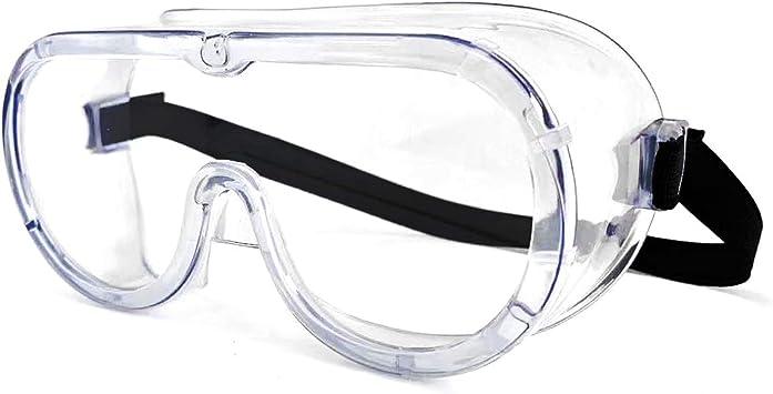 gafas de seguridad transparentes gafas de protecci/ón antivaho y antisalpicaduras gafas protectoras gafas protectoras para la cara Gafas de seguridad para la cara
