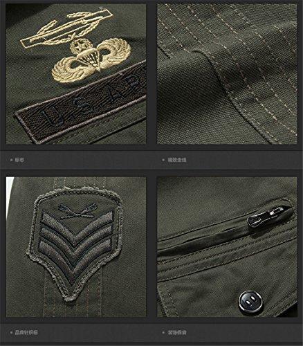 Jacket Force Men's MA1 Jacket Spring Military Autumn Bomber Flight JJZXX Khaki Air 9931 0xB1B