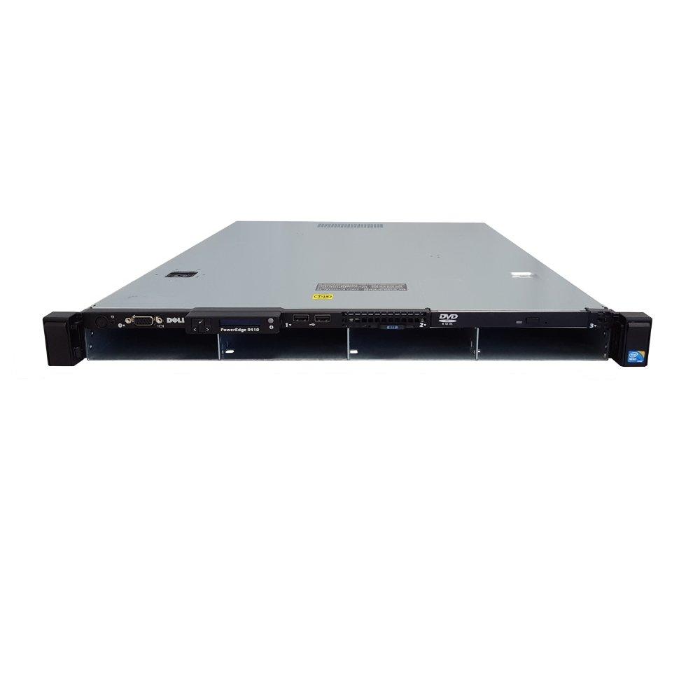 PCSP R410 12-Core 2.66GHz Rack-Mounted Server 24GB RAM 8TB Storage 4X 2TB HDD Renewed SAS 6//iR iDRAC6 2X 500W