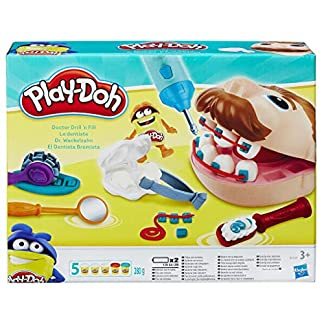 Hasbro Play-Doh B5520EU4 - Dr. Wackelzahn Knete, für fantasievolles und kreatives Spielen 4