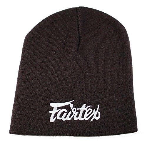 Fairtex Beanie Hat 100% Cotton Woven Winter Ski Hat Unisex (Brown)