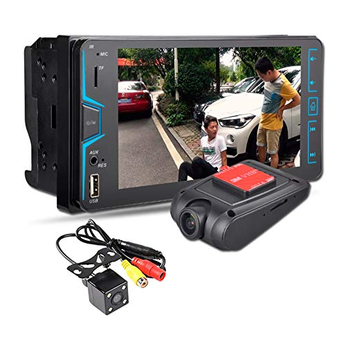 Dual Mobile Card Multimedia Mmc - QLPP HD 7 inch car MP4 Card 2 din Machine car MP5 Player Support Bluetooth Call reversing reversing Rear View FM Radio Colorful Lights Fast Charging